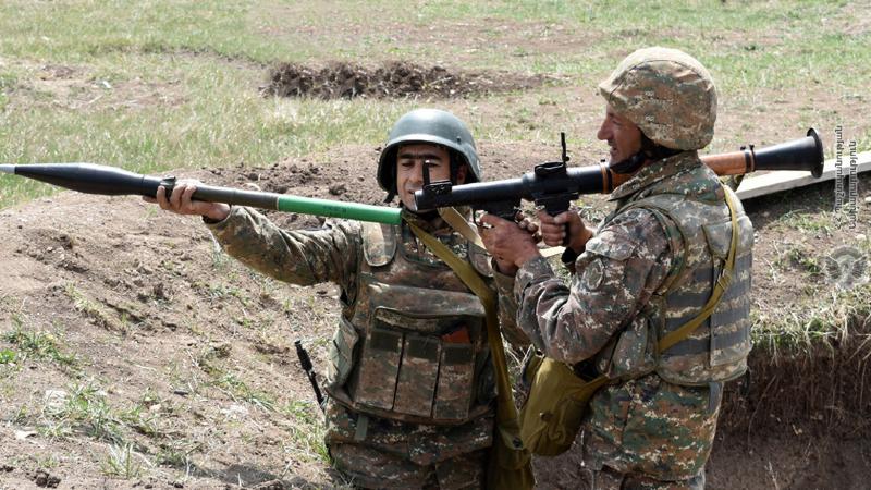 2-րդ զորամիավորման ենթակայությամբ գործող N զորամասում անցկացվել է կրակային պատրաստության գործնական պարապմունք՝ մարտական հրաձգությամբ
