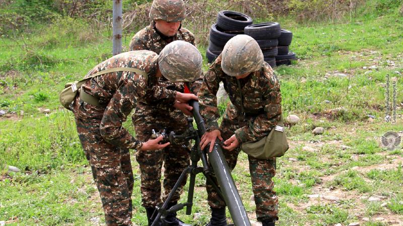 3-րդ զորամիավորման զորամասերից մեկի հրետանային ստորաբաժանումներում անցկացվել են մասնագիտական պարապմունքներ