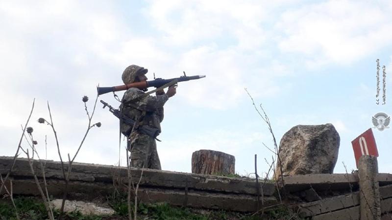 4-րդ զորամիավորման հրաձգարաններում անցկացվել են կրակային պատրաստության գործնական պարապմունքներ