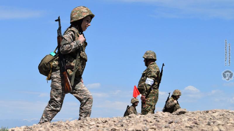 5-րդ զորամիավորումում անցկացվել են կրակային պատրաստության պարապմունքներ