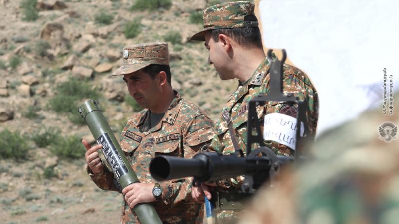 5-րդ զորամիավորման հակաօդային պաշտպանության ստորաբաժանումներից մեկում անցկացվել են պարապմունքներ