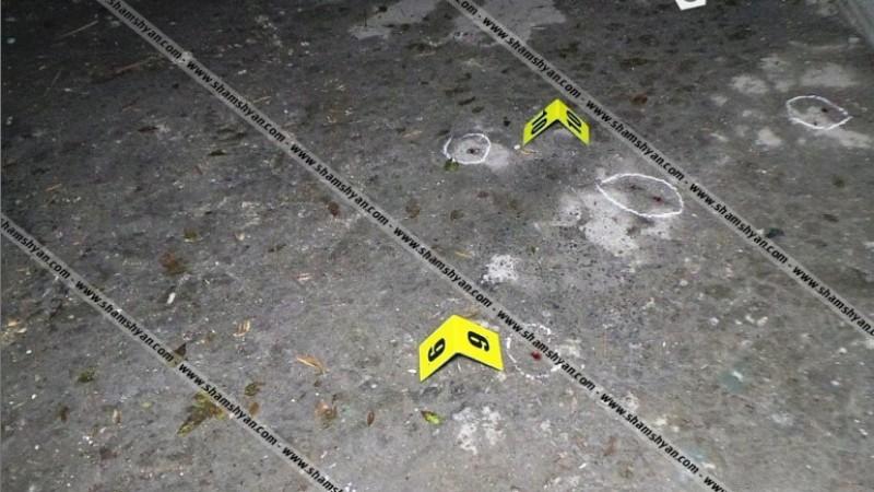 Կրակոցներ Երևանում՝ Վազգեն Սարգսյանի անվան ռազմական համալսարանի մոտ. դեպքի վայրում հայտնաբերվել են 2 տասնյակից ավելի կրակված պարկուճներ, արնանման հետքեր