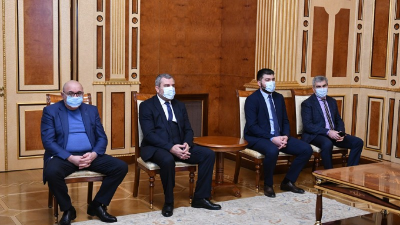 Նախագահ Սարգսյանն ընդունել է մի շարք կուսակցությունների ղեկավարների