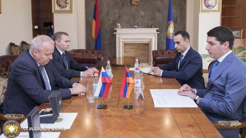 Արգիշտի Քյարամյանն ընդունել է ՀՀ-ում ՌԴ դեսպան Սերգեյ Կոպիրկինին
