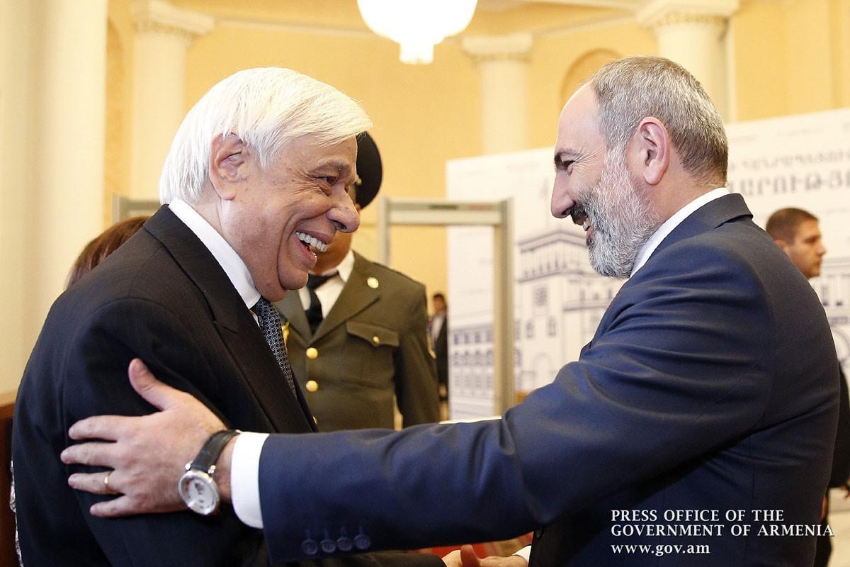 Երևանում տեղի կունենա Հայաստան-Հունաստան-Կիպրոս եռակողմ գագաթնաժողով․ Փաշինյանն ընդունել է Հունաստանի նախագահին