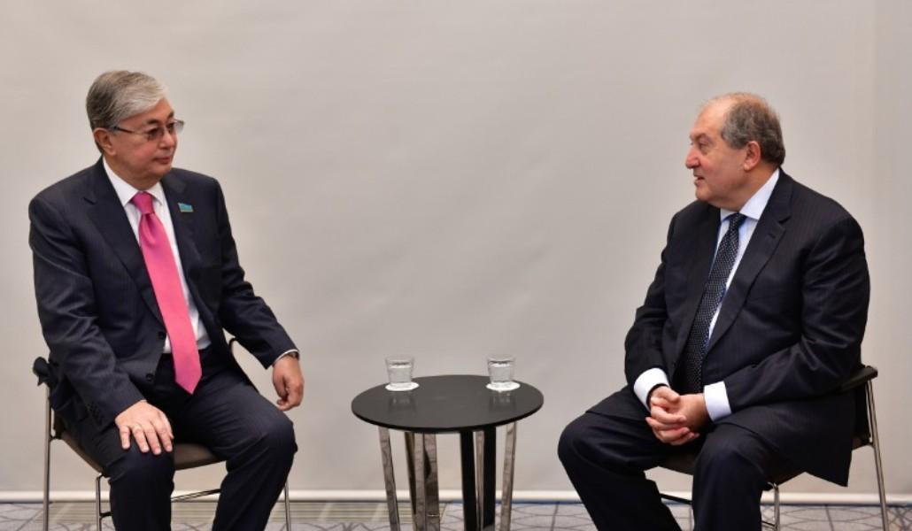 Արմեն Սարգսյանը ցավակցական հեռագիր է հղել Ղազախստանի նախագահին