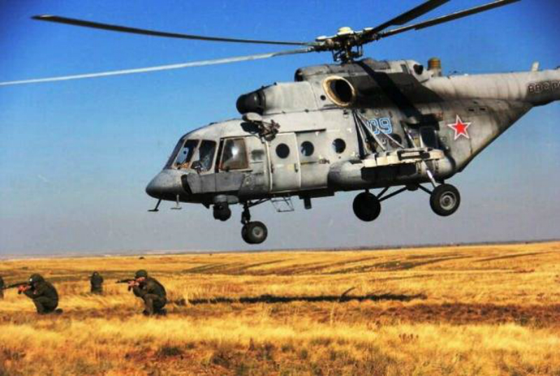 «Բաղրամյան» զորավարժարանում անցկացվում են հայ-ռուսական զորավարժություններ