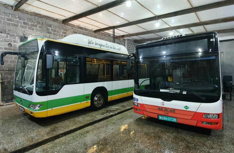 Երևանի երթուղիների համար նախատեսված նոր ավտոբուսներն արդեն մայրաքաղաքում են