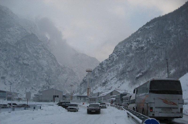ՀՀ տարածքում կան փակ և դժվարանցանելի ավտոճանապարհներ. Լարսը փակ է բեռնատարների համար