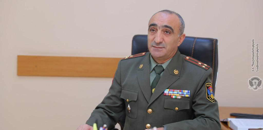 Գնդապետ Ստեփան Գեւորգյանը նշանակվել է ՊԲ հրամանատարի տեղակալ