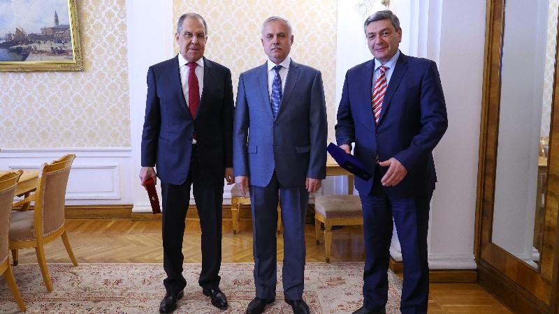 ՌԴ ԱԳՆ Սերգեյ Լավրովը հանդիպել է ՀԱՊԿ գլխավոր քարտուղար Ստանիսլավ Զասի հետ