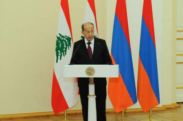 Լիբանանի նախագահն աշնանը կայցելի Հայաստան
