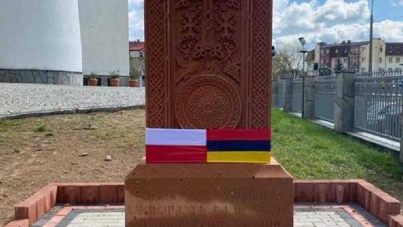 Լեհաստանի Բիալիստոկ քաղաքում հայկական խաչքար է բացվել