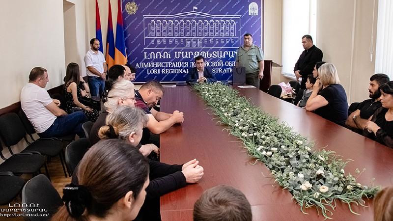«Մարտական ծառայության համար» մեդալով հետմահու պարգևատրվել են վանաձորցի զինծառայողներ