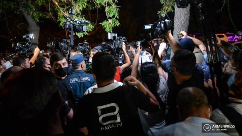 Ոստիկանապետը ծառայողական քննություն է նշանակել լրագրողների հետ տեղի ունեցած միջադեպի առնչությամբ