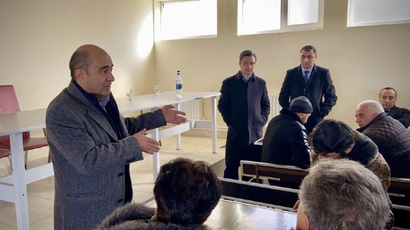 ԼՀԿ պատգմավորները հանդիպել են Մարտունու, Սոթքի, Վարդենիսի և շրջակա համայնքների բնակիչների հետ