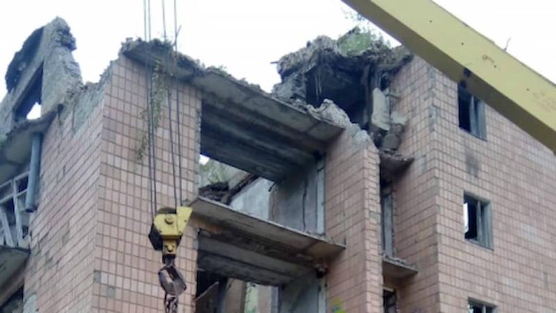 Մերձմոսկովյան շրջանում 5-հարկանի շենք է փլուզվել