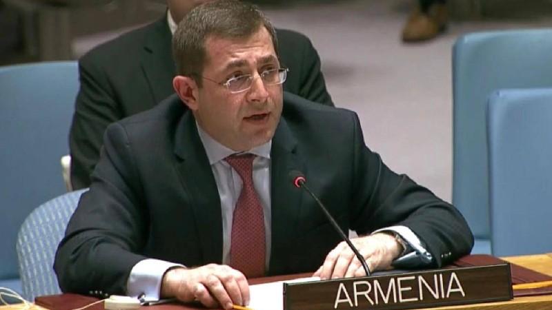 ՄԱԿ-ում ՀՀ մշտական ներկայացուցիչը նամակով դիմել է ՄԱԿ Անվտանգության խորհրդի նախագահին