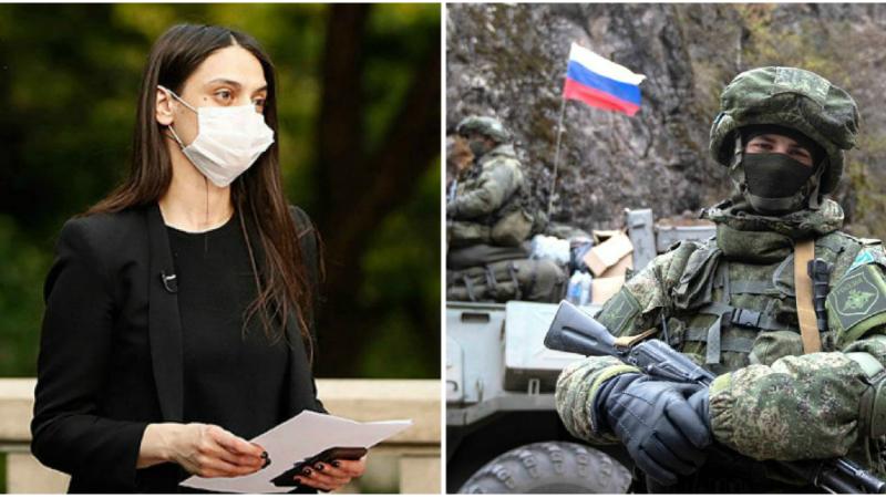 Հայկական կողմը գրավոր և բանավոր բազմիցս դիմել է ռուս խաղաղապահներին, որպեսզի նրանք Հին Թաղեր-Խծաբերդ հատվածում իրականացնեն իրենց գործառույթը․ Մանե Գևորգյան