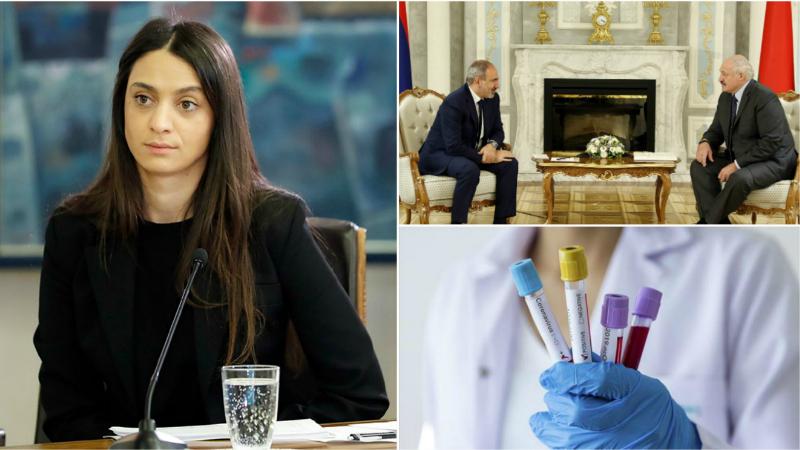 Բելառուսի նախագահի հետ հանդիպած պաշտոնյաների լրացուցիչ թեստավորման կարիք չկա. Մանե Գևորգյան