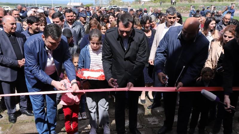 Շիրակի մարզի Գեղանիստ գյուղում նոր մանկապարտեզ է կառուցվել. կհաճախի 60 երեխա (լուսանկարներ)