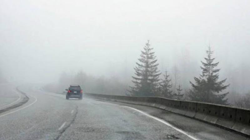 Ապարան եւ Չարենցավան քաղաքներում ձյուն է տեղում, «Չայնիի ոլորաններ»-ում մառախուղ է