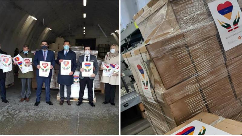 Լիտվայի կողմից որպես մարդասիրական օգնություն Հայաստան է ուղարկվել 100 հազար եվրո արժողությամբ բժշկական սարքավորումներ