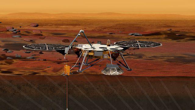 Մեկնարկեց InSight ավտոմատ կայանի առաքելությունը դեպի Մարս