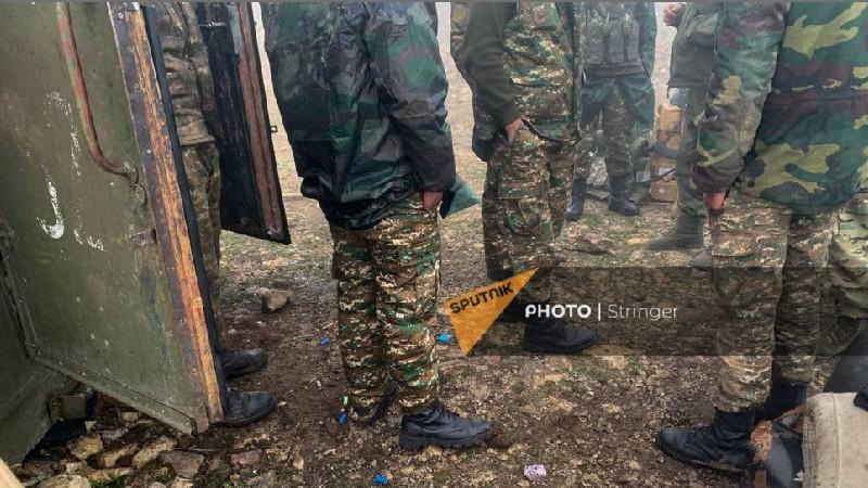 Սա այն մարտական դիրքն է, որը հայերը հետ են վերցրել ադրբեջանցիներից. բացառիկ լուսանկարներ. Sputnik Արմենիա