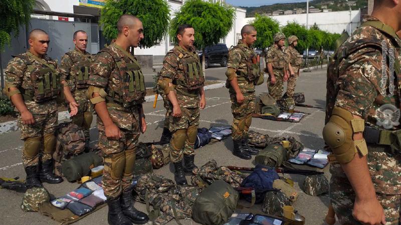3-րդ զորամիավորումում անցկացվել են մարտական հերթափոխի նախապատրաստական աշխատանքներ