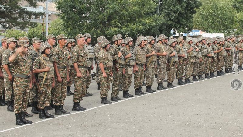 4-րդ զորամիավորման զորամասերից մեկում իրականացվել է մարտական հերթափոխ