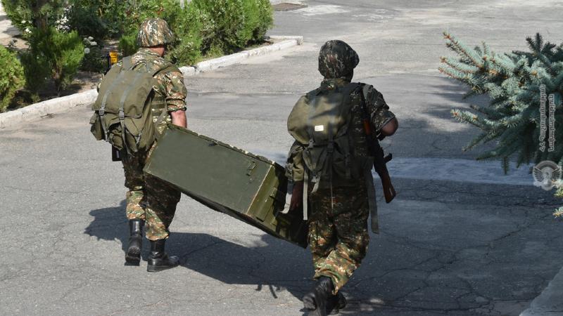 5-րդ զորամիավորման վարչակազմն ու ապահովման ստորաբաժանումները բերվել են մարտական պատրաստականության բարձր աստիճանի