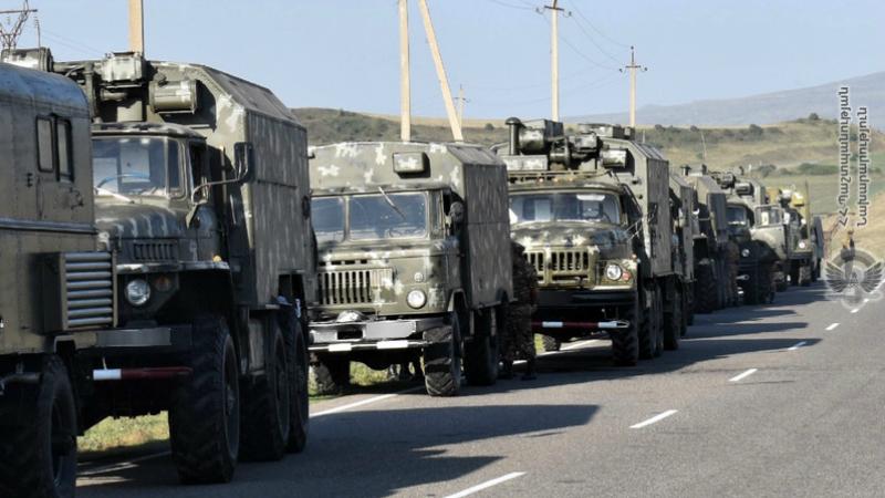 1-ին զորամիավորման ենթակա զորամասերը բերվել են մարտական պատրաստականության բարձր աստիճանի (լուսանկարներ)