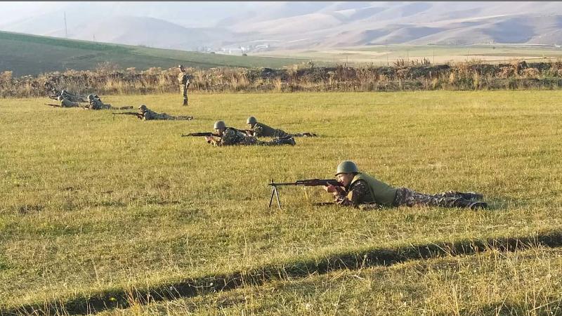 2-րդ զորամիավորման կազմը համալրած պահեստազորայինների հետ անցկացվել են մարտավարական պարապմունքներ
