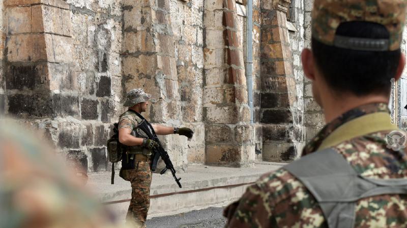 5-րդ զորամիավորման հատուկ նշանակության ստորաբաժանումների զինծառայողներն անցկացրել են մարտավարական-մասնագիտական պարապմունքներ