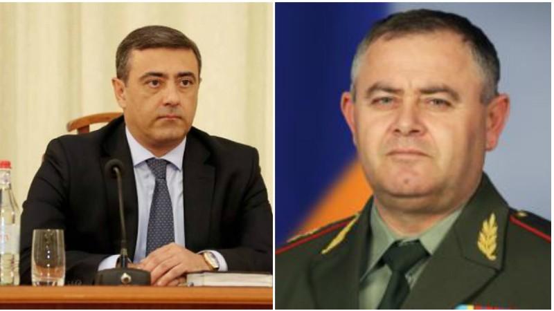 Նախագահը ստացել է Էդուարդ Մարտիրոսյանի և Արտակ Դավթյանի պաշտոնից ազատման առաջարկությունները