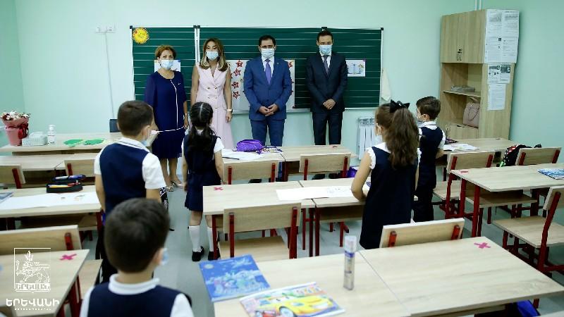 Երևանում ևս մեկ հիմնանորոգված դպրոց բացվեց