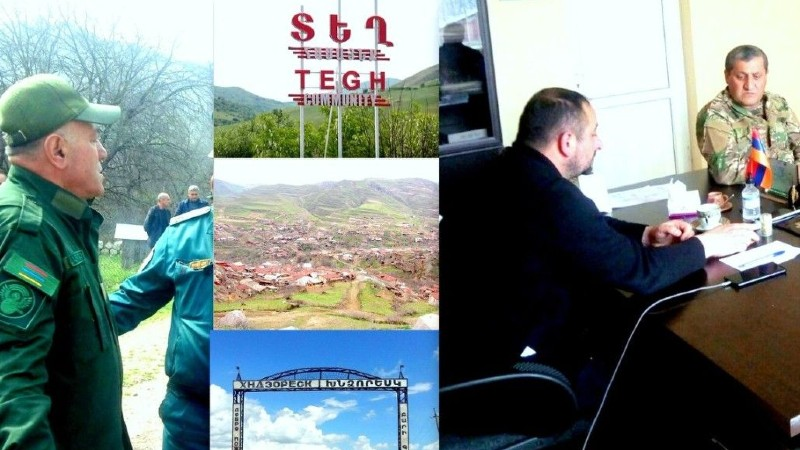 Սյունիքի մարզպետի որոշմամբ ստեղծված աշխատանքային խումբն այցելել է մարզի սահմանային գյուղեր