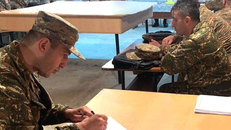 ՀՀ զինված ուժերում անցկացվել են պատրաստականության բարձրացման միջոցառումներ