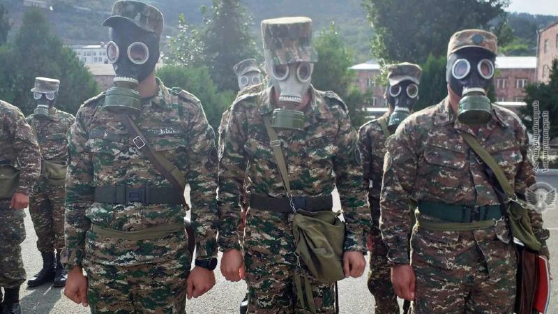 N զորամասում անցկացվել են ռադիացիոն, քիմիական, կենսաբանական պաշտպանության զորքերի մասնագիտական մարզումներ