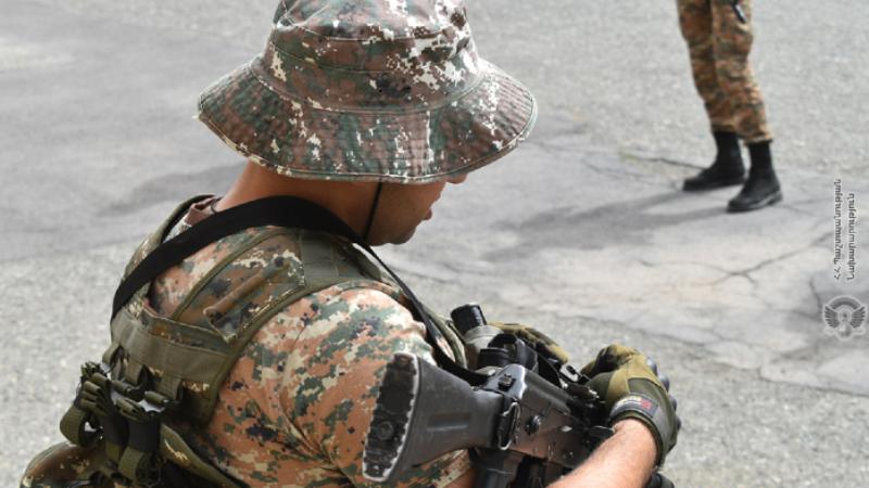 Հատուկ նշանակության ստորաբաժանումների զինծառայողներն անցկացրել են մարտավարական-մասնագիտական հատուկ վարժանքներ