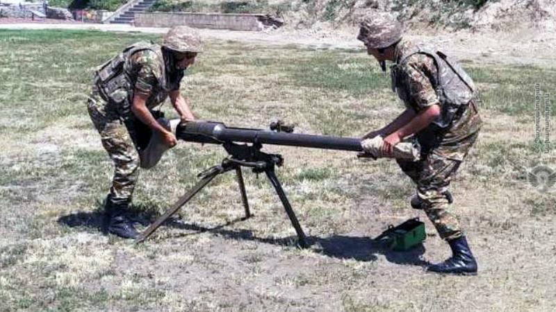 Մասնագիտական հավաքներ զորամասերում. ստուգվել են զինծառայողների՝ հաստիքային զենքերին տիրապետելու հմտությունները (լուսանկարներ)