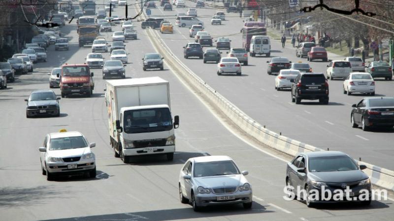Երթևեկության կազմակերպման փոփոխություն Երևանում․ ճանապարհային ոստիկանությունը տեղեկացնում է