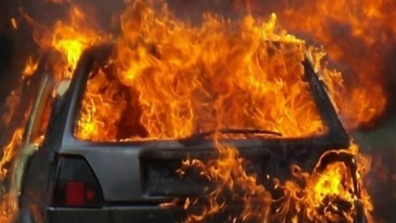 Երևանում ավտոմեքենա է այրվել