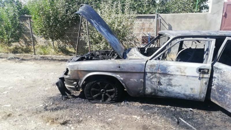 Եղվարդ քաղաքում «ԳԱԶ-3110» մակնիշի ավտոմեքենա է այրվել․ ԱԻՆ