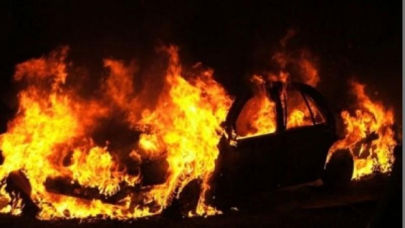 Հրազդան-Չարենցավան ավտոճանապարհին մեքենա է այրվել