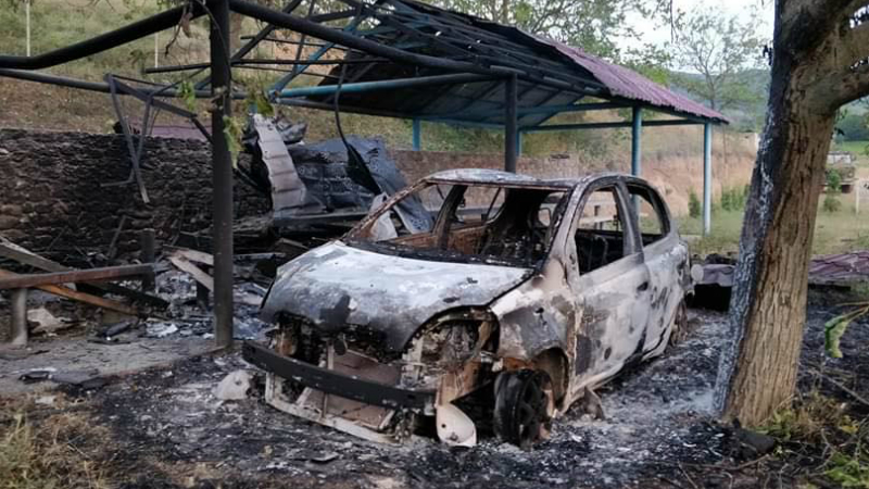 Ադրբեջանական ԱԹՍ-ից խոցվել է քաղաքացիական ևս 1 մեքենա․ զոհեր չկան