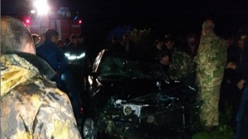 Մեքենան ընկել է Մարմարիկ գետը