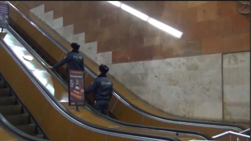 Մետրոպոլիտենի պահպանության բաժնի ծառայողները ապօրինի թմրաշրջանառության դեպք են բացահայտել (տեսանյութ)