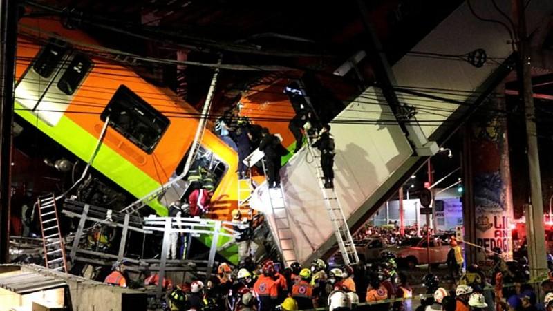 Մեխիկոյում մետրոյի կամրջի փլուզման հետևանքով կան տասնյակ զոհեր ու տուժածներ